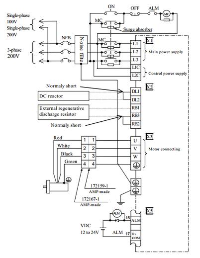 test ac servo motor and drive i 39 m an robotic engineer. Black Bedroom Furniture Sets. Home Design Ideas